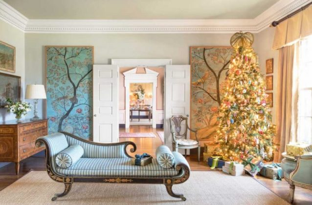 Best christmas living room decor