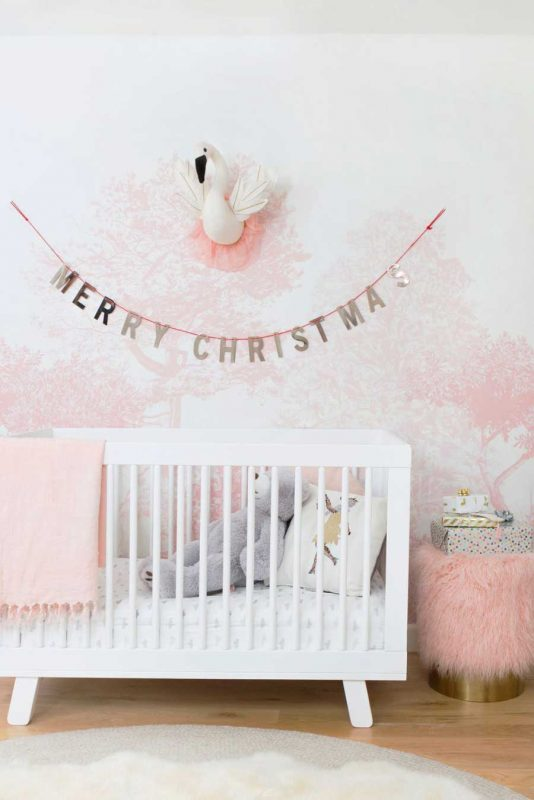 Decorate nursery with christmas