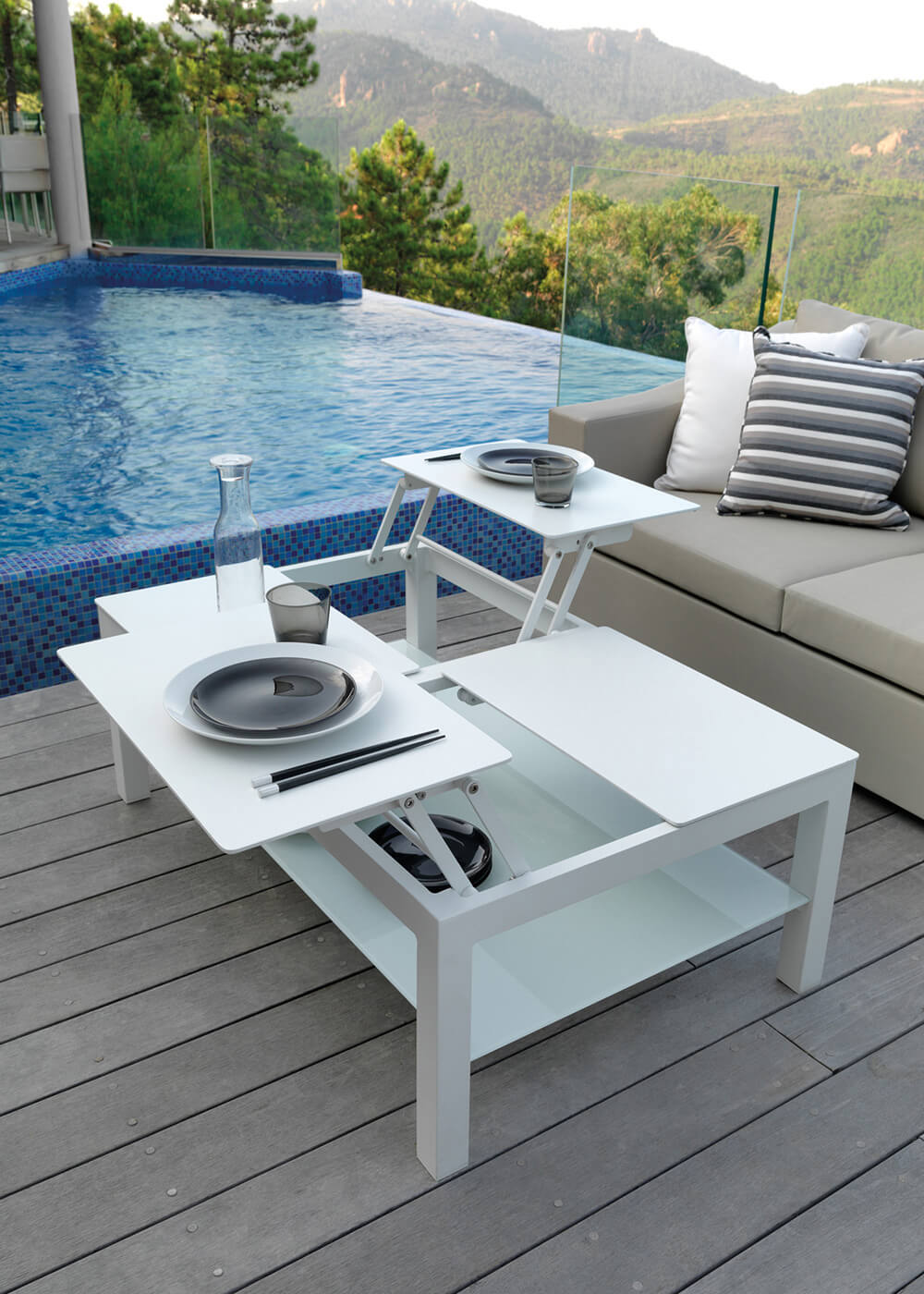 Outside Table And Chairs Umbrella