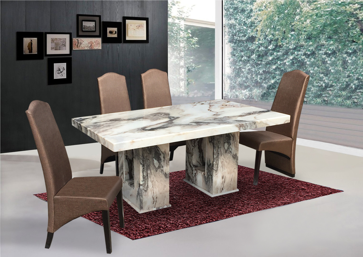 tables and chairs meaning chair covers for ikea henriksdal marble top dining table harvey norman