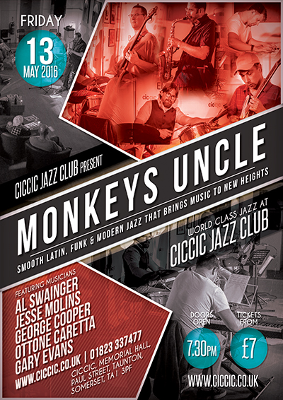 ciccic jazz club with monkeys uncle