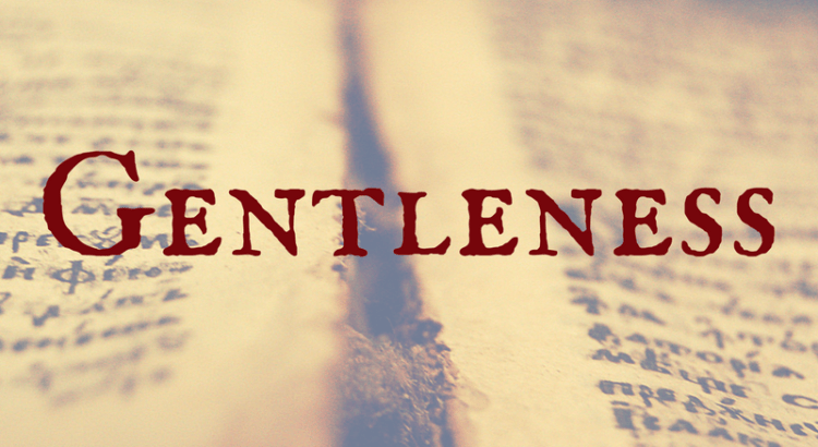Word Nerd Wednesday Gentleness