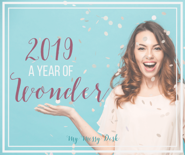 2019 A Year of Wonder