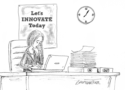 No Time for Innovation? Think Again!
