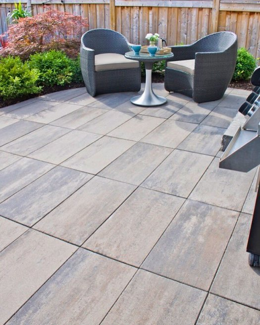 New Avari paver by Best Way Stone, in Glaciar Creek colour.