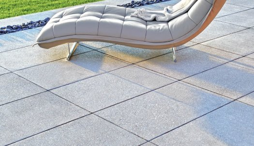 Interlocking paving stones layed on Gator Base foam technology.