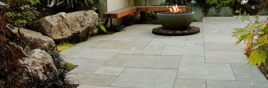 Beautiful natural stone pavers are a great choice for warmth and beauty in any stone landscape.