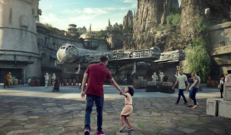 Star Wars Land California