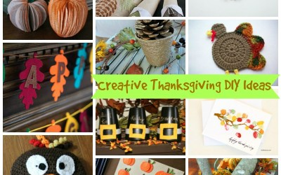 Creative Thanksgiving DIY Ideas