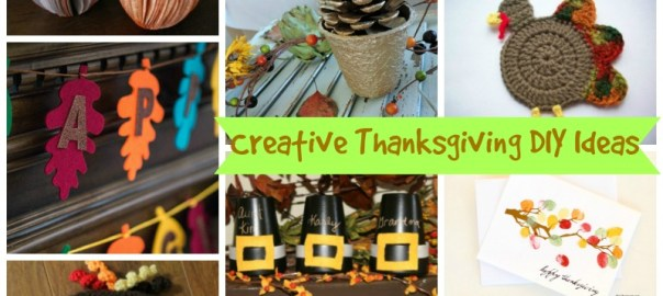 12 Unique and Creative Thanksgiving DIY ideas