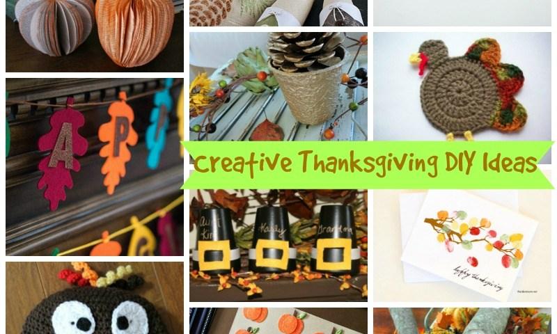 12 Unique and Creative Thanksgiving DIY ideas