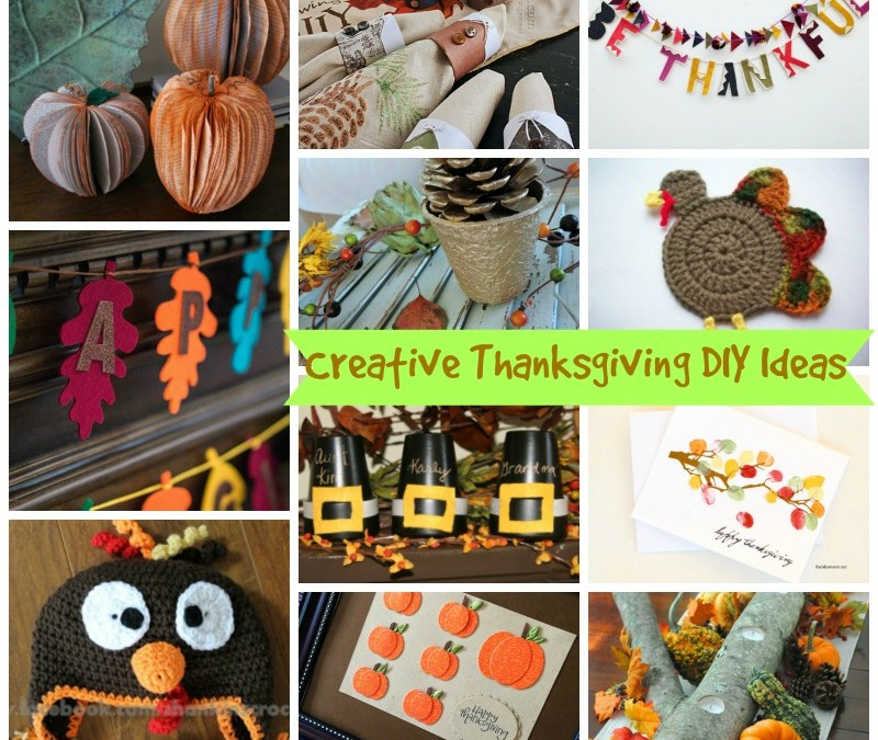 Creative Thanksgiving DIY Ideas
