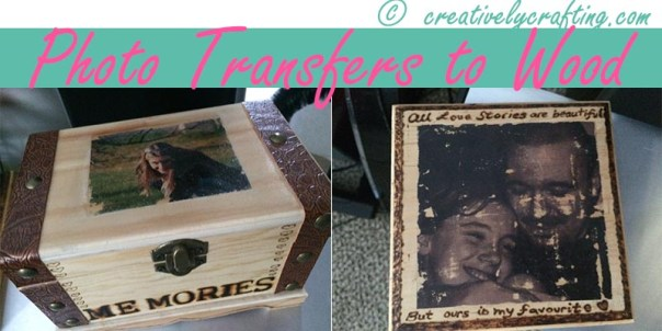 Photo Transfer to Wood