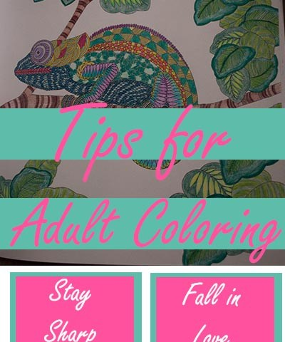 tip for adult coloring