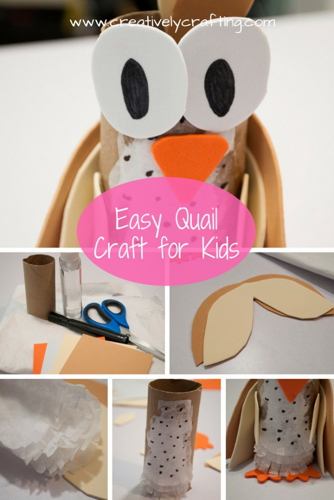 easy quail craft