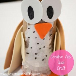 quail crafts