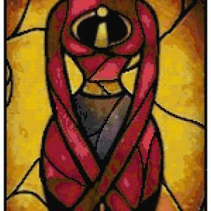Elastigirl Cross Stitch Pattern