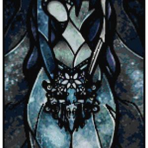 Corpse Bride Cross Stitch