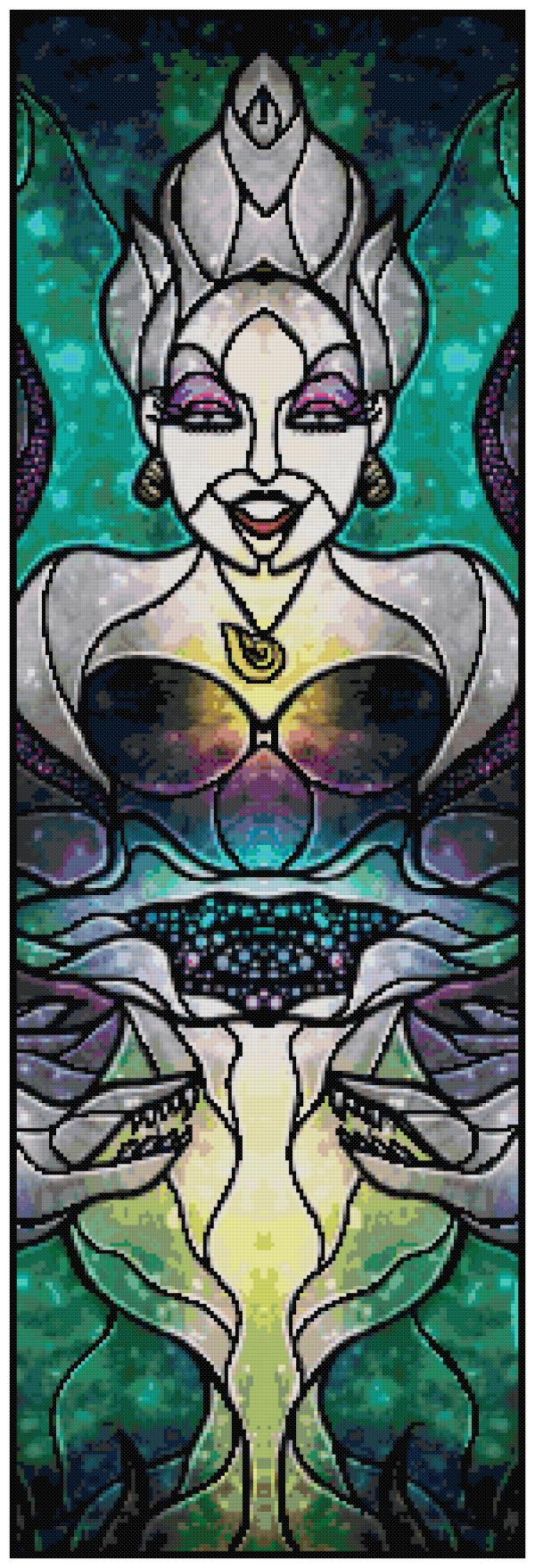 Ursula Cross Stitch Pattern