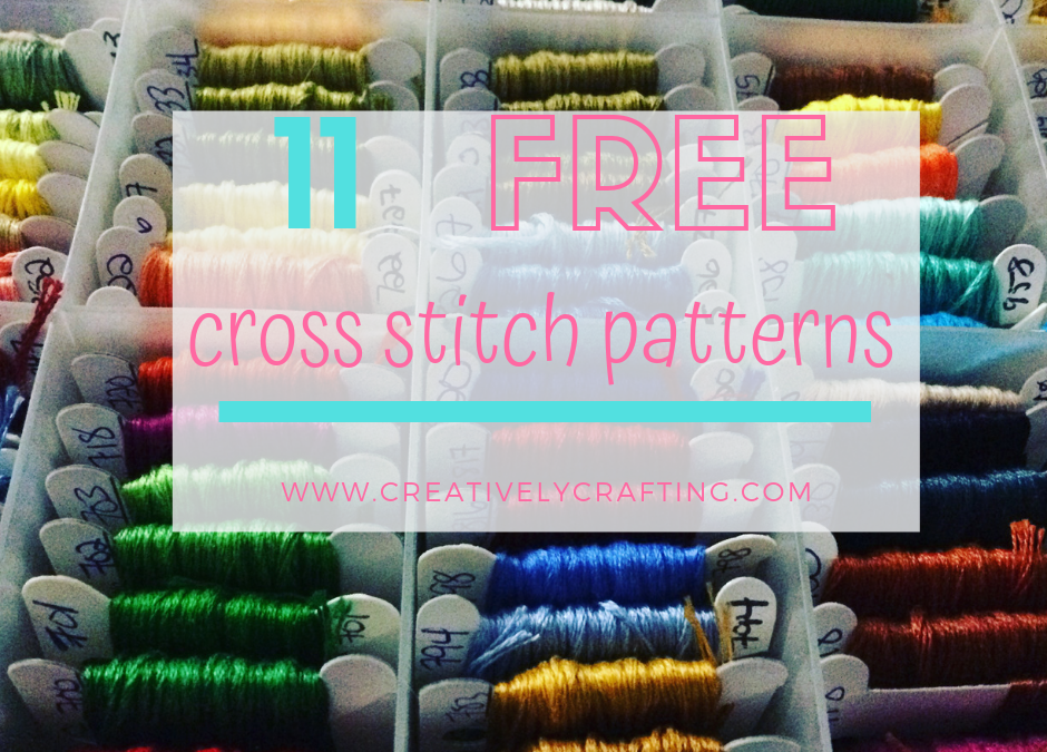 11 Free Cross Stitch Patterns
