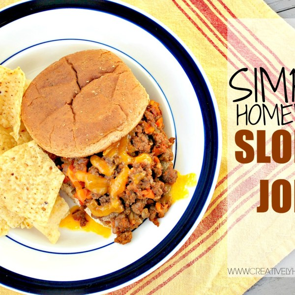 Simple Homemade Sloppy Joes Recipe