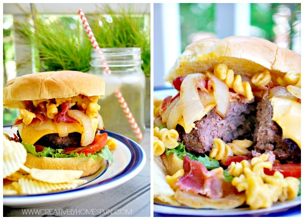3 Brilliant Burger Recipes: Macaroni and Cheeseburger, Hawaiian BBQ Burger, Western Bacon Burger!! #SummerOfGrilling #CollectiveBias