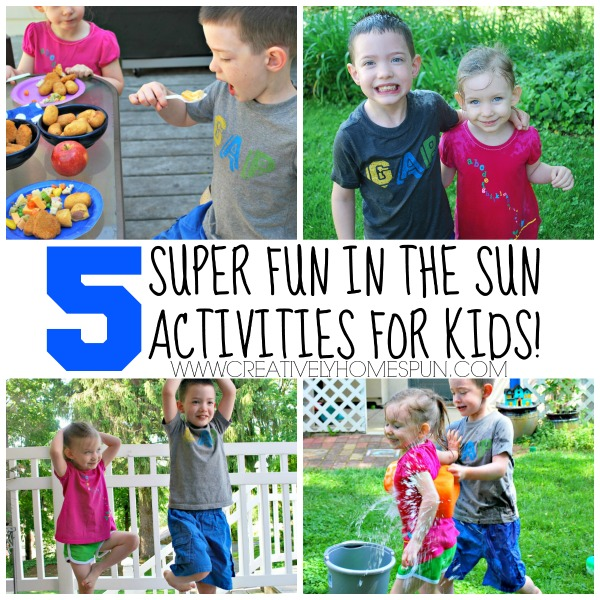 AD: 5 Super Fun in the Sun Activities for Kids!