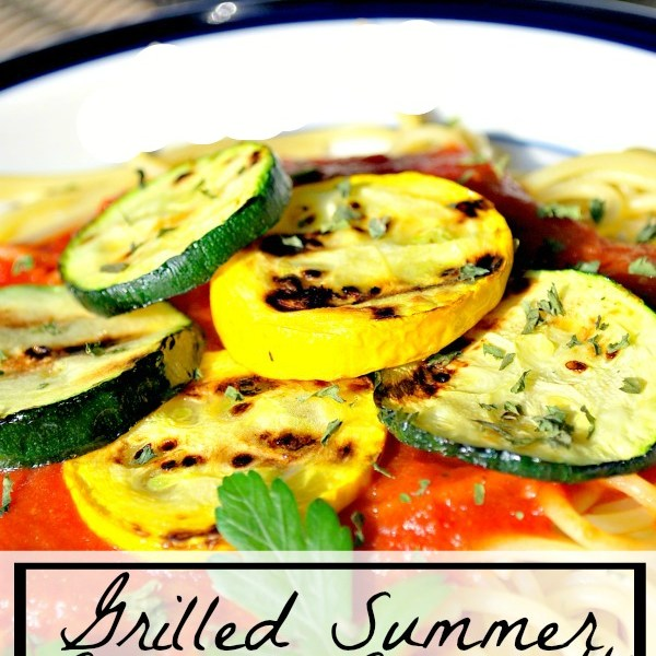 Grilled Summer Squash Spaghetti Recipe