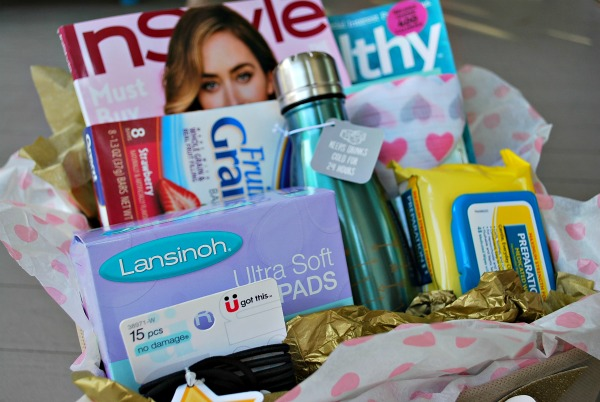 New Mom Gift Basket Tutorial