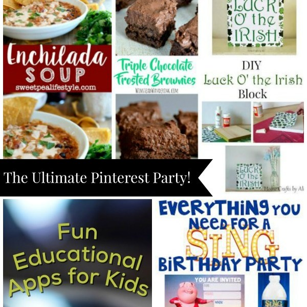 The Ultimate Pinterest Party, Week 136