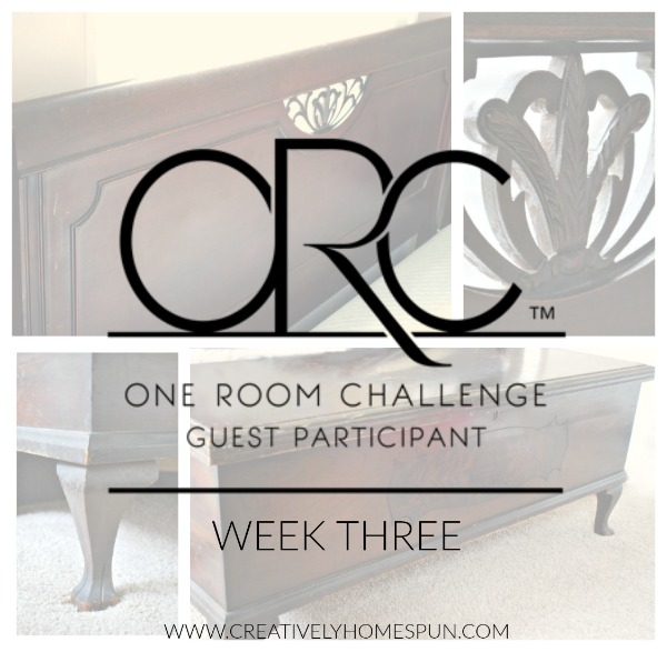Welcome To Week Three Of The #oneroomchallenge! Hosted By Linda From  Calling It Home, The Projects Are Moving Along! Aside From Reveal Day, This  Challenge ...