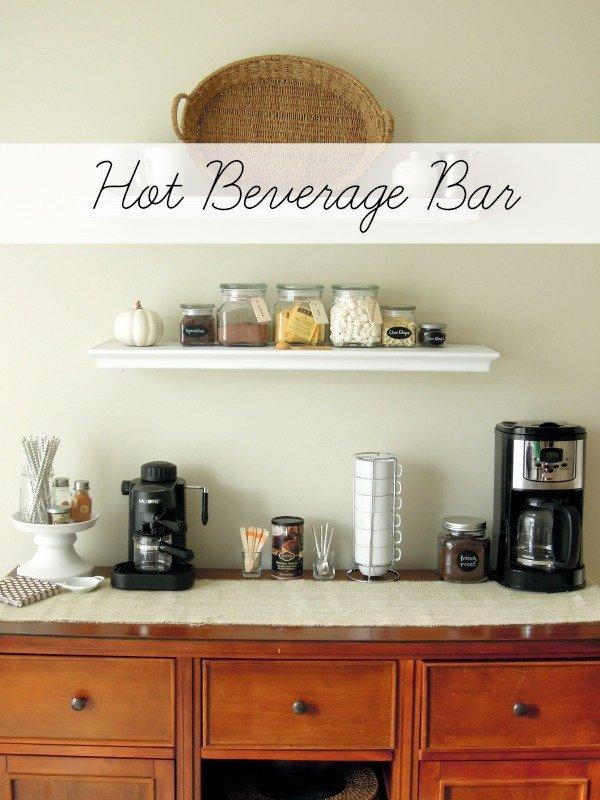 hot beverage bar