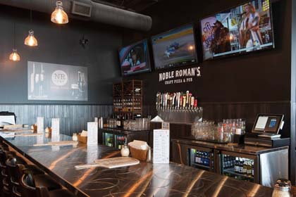 "Noble Roman's Opens ""Craft Pizza & Pub"""