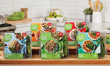 HelloFresh Launches Retail Product Line