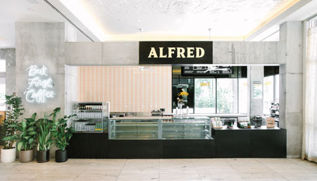 Alfred Coffee Opens New Coffee Shop At The LINE LA