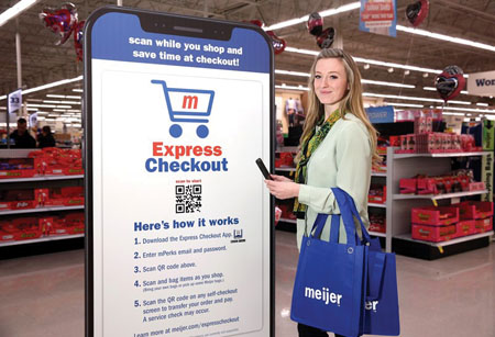 Meijer Launches 'Shop & Scan' Program