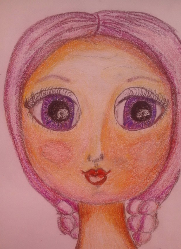 cute little girl by Cristina Parus @ http://creativemag.ro