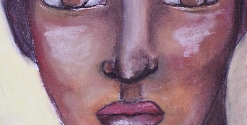 Soft pastels portrait by Cristina Parus @ creativemga.ro