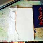 Art journal din materiale reciclate