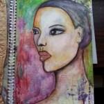 Portret semi profil