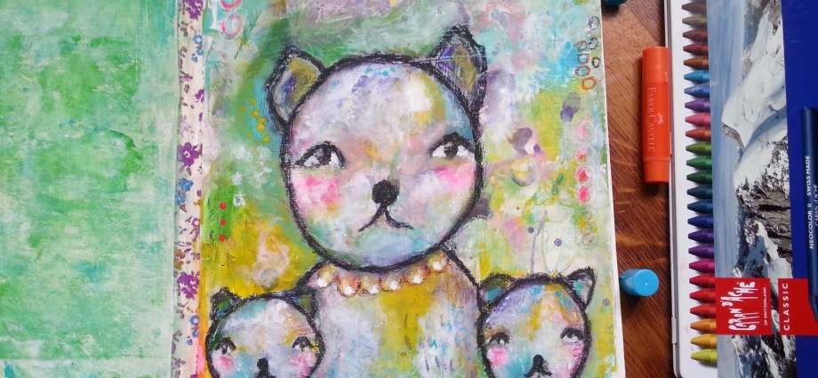 whimsical bears by Cristina Parus @ creativemag.ro