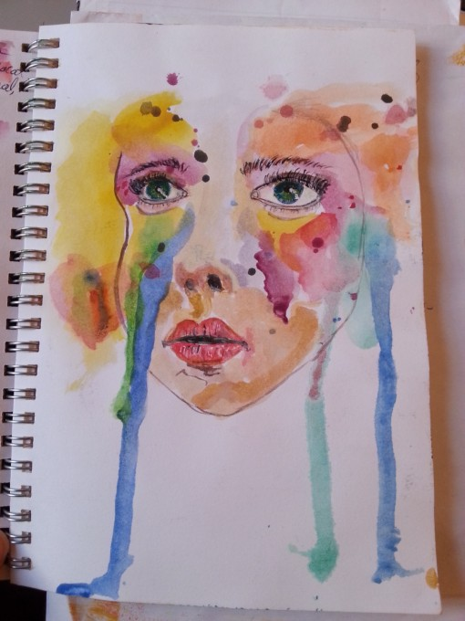 Color splash by Cristina Parus @ creativemag.ro