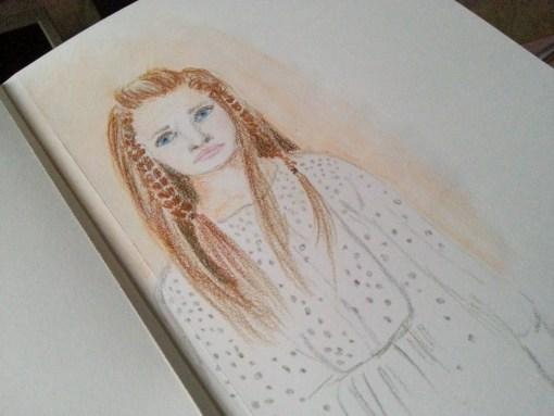20/30 portrait challenge by Cristina Parus @ creativemag.ro