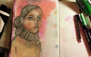 28/30 portrait challenge by Cristina Parus @ creativemag.ro
