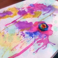 Cum sa-ti faci un jurnal acuarela