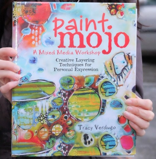 Paint Mojo - A mixed Media Workshop Book - by Cristina Parus @ creativemag.ro