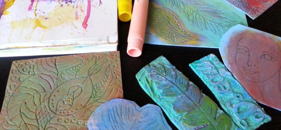 Handmade stamps by Cristina Parus @ CreativeMag.ro
