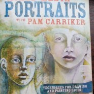 Mixed Media Portraits with Pam Carriker mini book review by Cristina Parus @ creativemag.ro