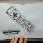 One sketch a day – remote control