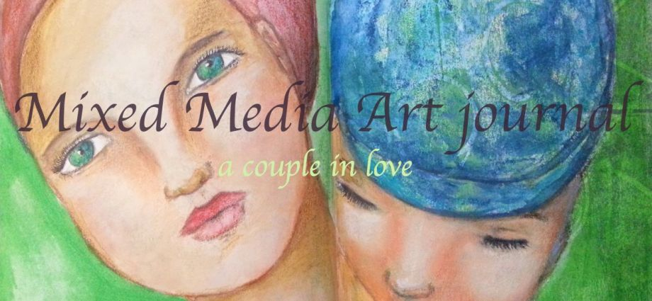 Couple in love Mixed media by Cristina Parus @ creativemag.ro